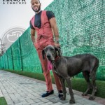 #Photos: See Denrele, Mr. Ideal Nigeria and Others looking dapper with Dogs at the Lifestyle& Pooches Pre-event Photoshoot