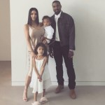 Kim Kardashian shares beautiful Easter photos with husband, Kanye West and kids