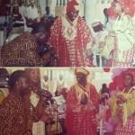 Photos of Julius Agwu as MC at Omotola Ekeinde's traditional wedding 16 years ago