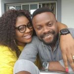 """""""My Goodluck Charm""""; Funny Actor Bishop Imoh celebrates his wife's birthday"""