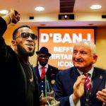 D'banj wins Entertainment Icon Of The Year Award in London