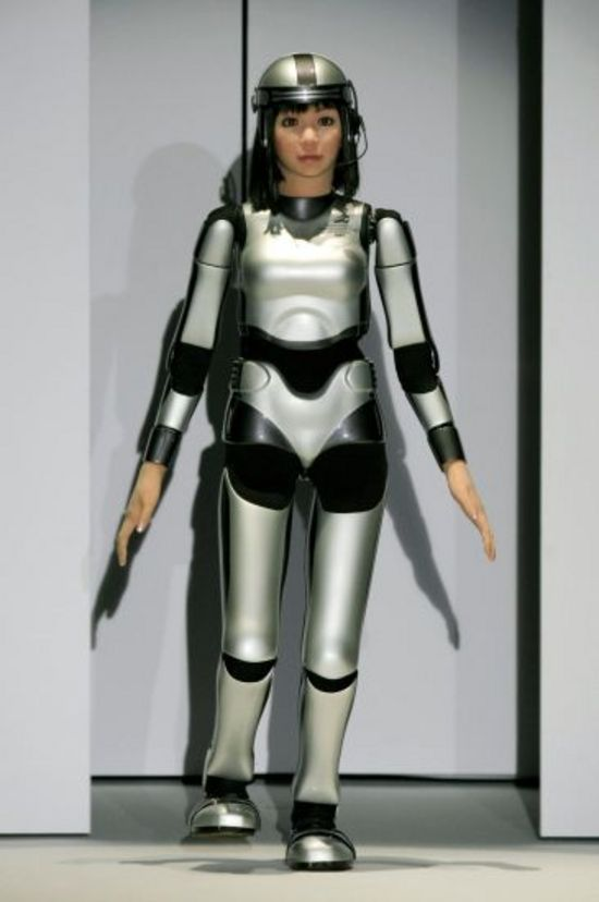 robot humanoide iss japon