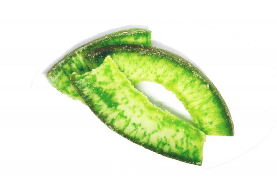 Pomeló szelet zöld - kandírozott