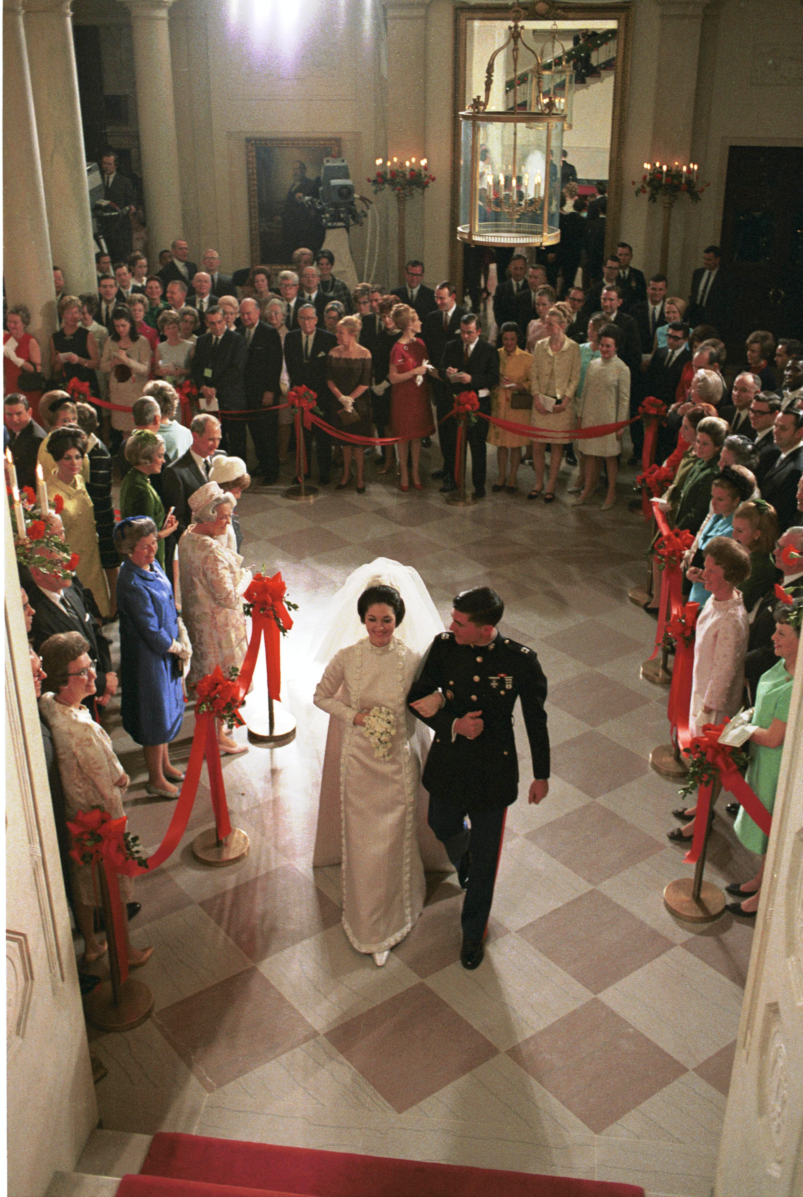 White House Weddings Luci Amp Lynda Johnson Noltes Bridal