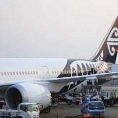 初めてのビジネスクラスの感想は?ニュージーランド航空ビジネスクラス搭乗機