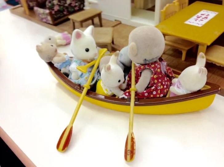 東条湖おもちゃ王国のシルバニアファミリー