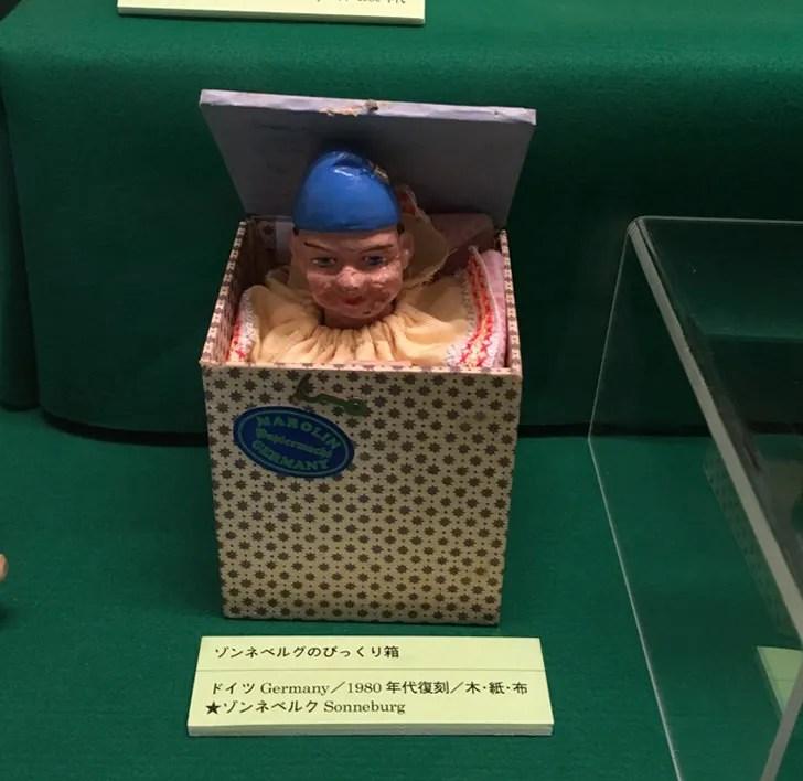 日本玩具博物館のびっくり箱