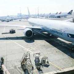 キャセイパシフィック航空(CX748便)ヨハネスブルグ – 香港 777-300ER