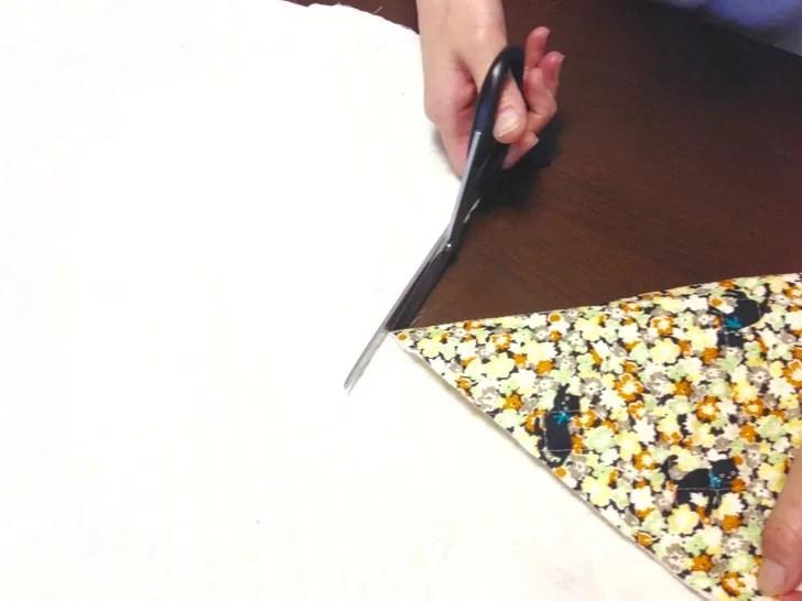 小学校で使うバッグ類を手作り