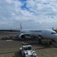 JAL 日本航空(JL006便) 成田-ニューヨークJFK 777-300(JAL SKY SUITE)
