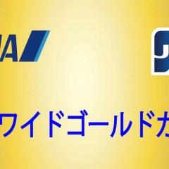 ANA ワイドゴールドカード(JCB)特典とデメリット