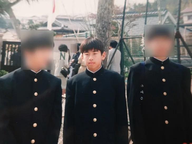 中学生時代の写真