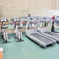 堺市立鴨谷体育館のスポーツジム(ランニングマシン)
