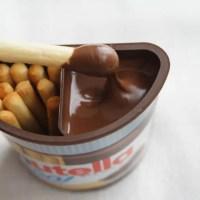 コストコのNutella&GO!(ヌテラアンドゴー)(チョコレートにディップ2)