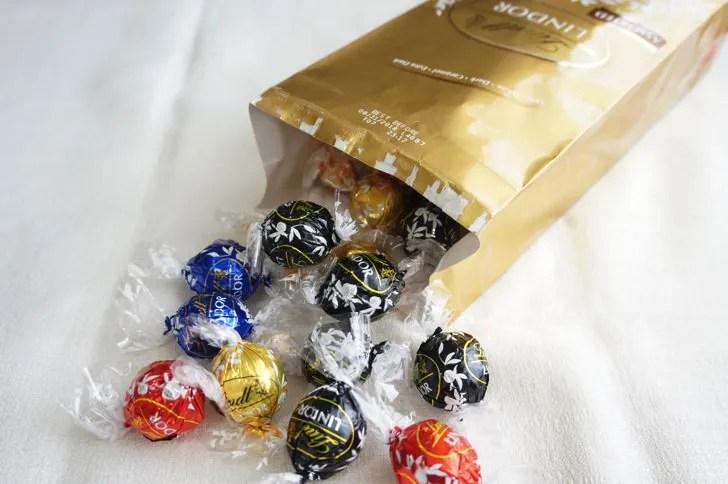 コストコのリンツ リンドール アソートチョコレート(個包装)