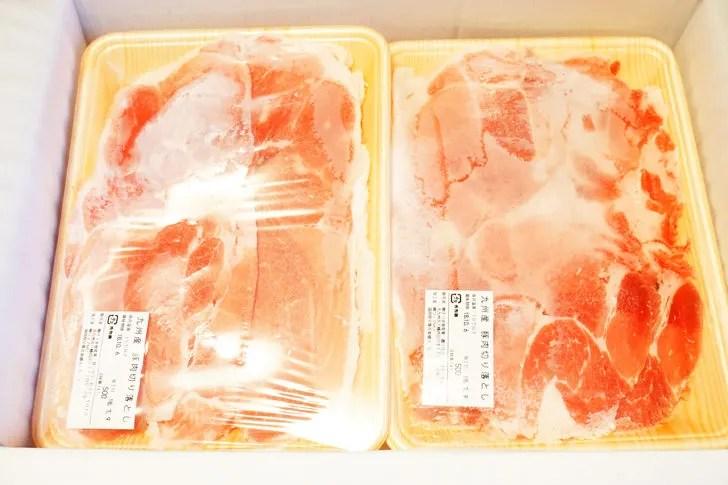 ふるさと納税 返礼品 特盛り九州産豚切落し4Kg