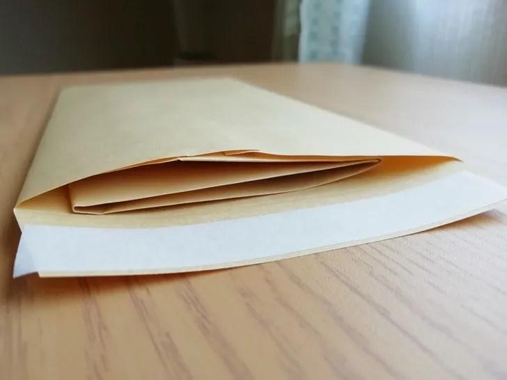 【返信用封筒】返信用封筒は三つ折りだと封筒に入れやすいしかさばらない