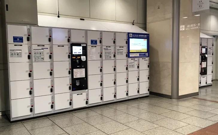 JR名古屋駅中央コンコースコインロッカーの写真