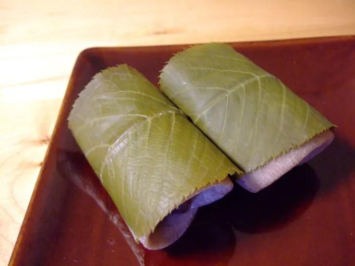長明寺風レシピでつくった桜餅