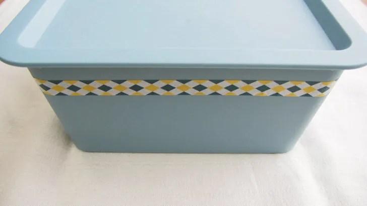 コストコのPOINT&LINE マスキングテープ(マスキングテープの使い方・容器に貼る)