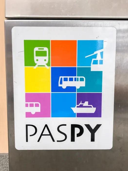 PASPYが利用できることを示すマーク
