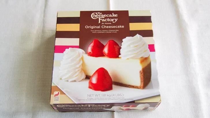 コストコのチーズケーキファクトリー オリジナルチーズケーキ(パッケージ)