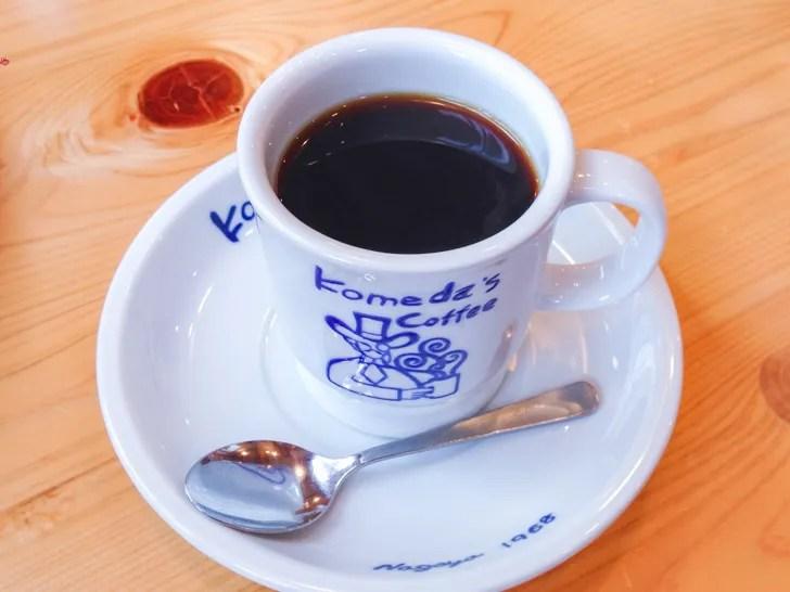 コメダ珈琲店:ブレンドコーヒー
