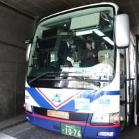 長崎空港から長崎駅へのバス