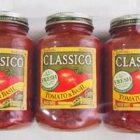 コストコ「クラシコ パスタソース トマト&バジル」の値段・気になるカロリーや賞味期限・食べた感想まとめ。使いみちの多いおすすめソース
