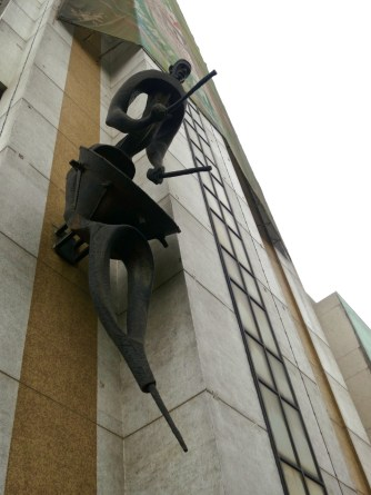 NTA building , statue by Ben Enwonwu 1978