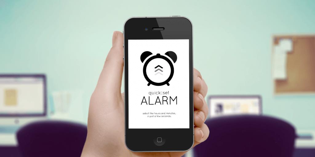 Aplicativo de alarme no celular