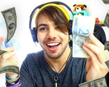 quanto ganha um youtuber no Brasil