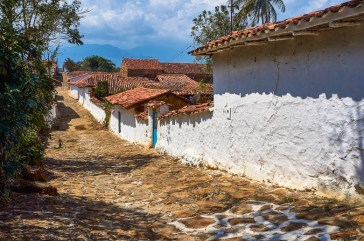 Street view in Guane, Colombia