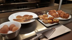 Breakfast at the Albus Hotel in Amsterdam