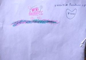 Ibrahim's drawing 2015