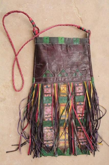 Camel bag purse.