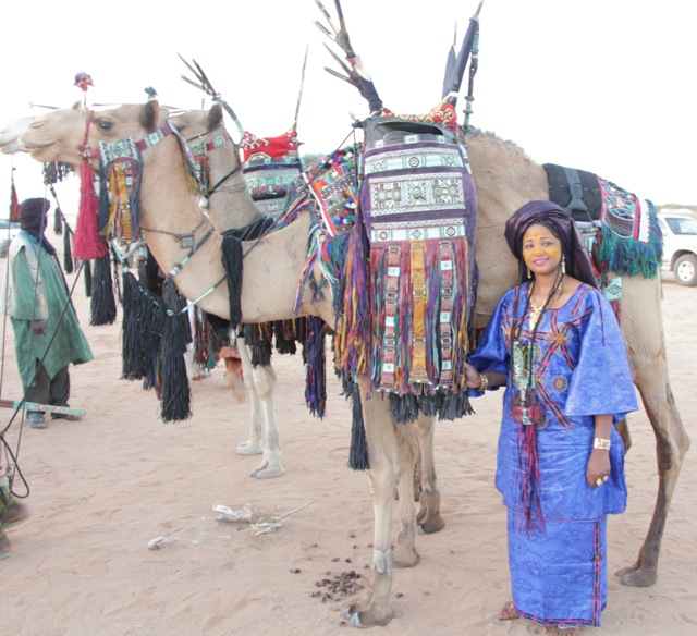 Tuareg finery
