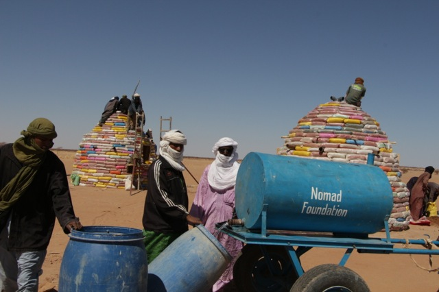 One of the many challenges was hauling enough water from the well.  It was constant demand.