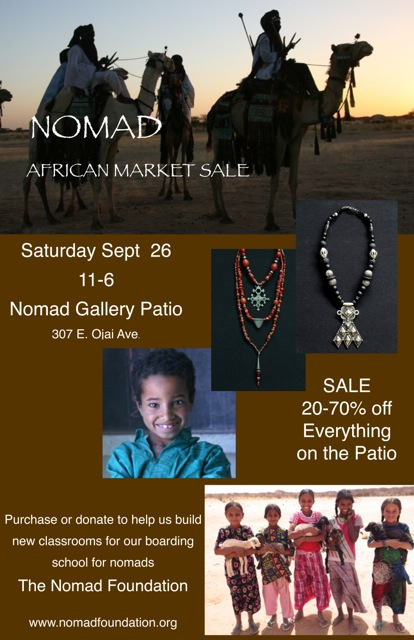 African Market Sale Poster 2015