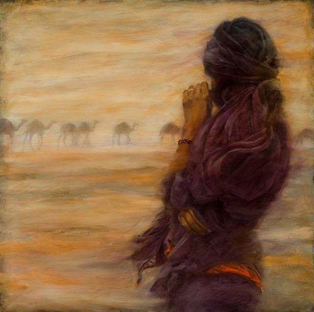 passing camel