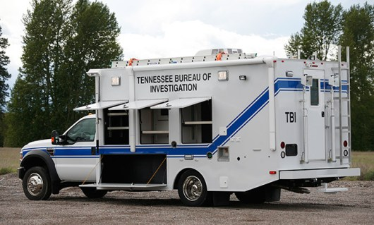 Crime Lab Vehicle