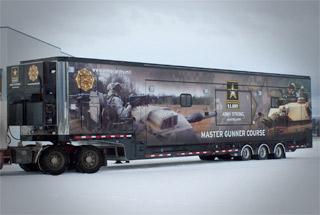 Army Classroom Trailer