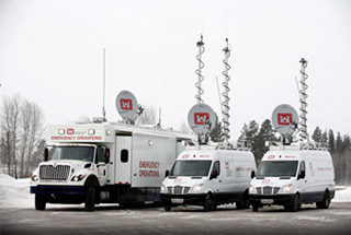 Mobile Command Vehicles