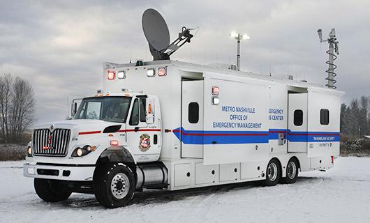 Emergency Management Vehicle
