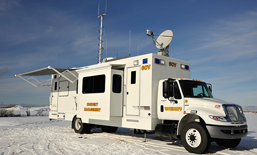 Gallatin County Command Vehicle