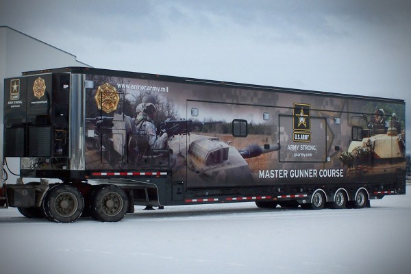 US Army Mobile Classroom
