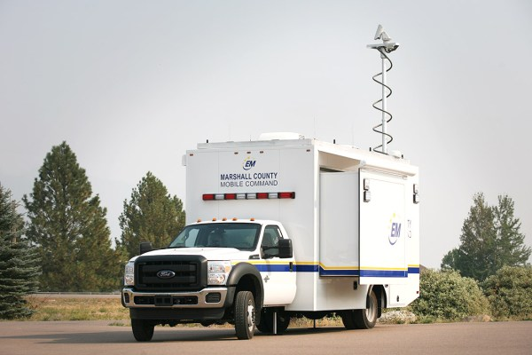Marshall County Mobile Command Street Side