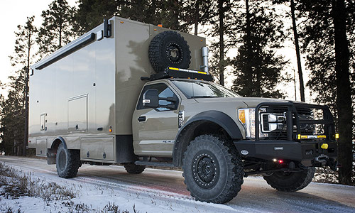 what vehicles can be modified in the mobile operations center