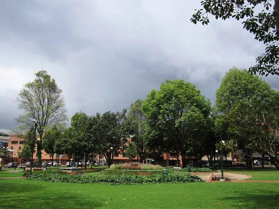 Bogota Parque de la 93