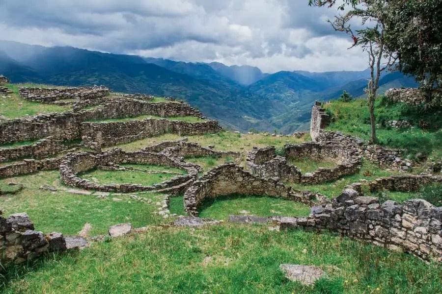 Kuelap Ancient ruin site in Peru South America